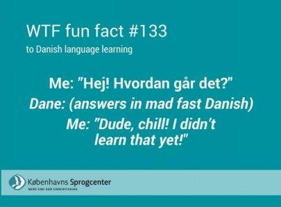 WTF fun facts to Danish language learning 1