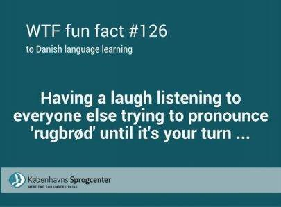 WTF fun facts to Danish language learning 2
