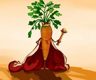 King carrot and other Danish sayings